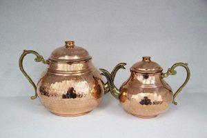 Tetera turca de cobre