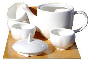 tetera de cerámica económica