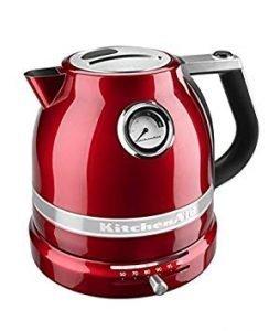 hervidor de agua rojo kitchenaid