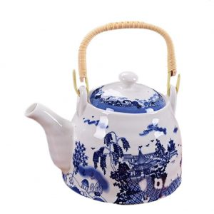 tetera de porcelana estilo chino